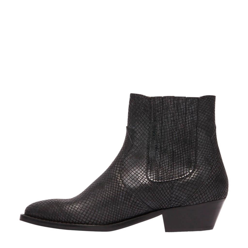 Boots Zwart Leren 5th Chelsea Vanharen Avenue wq1wIFBf