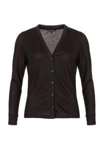 La Ligna glitter vest zwart (dames)