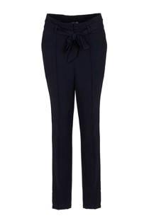 La Ligna high waist broek blauw