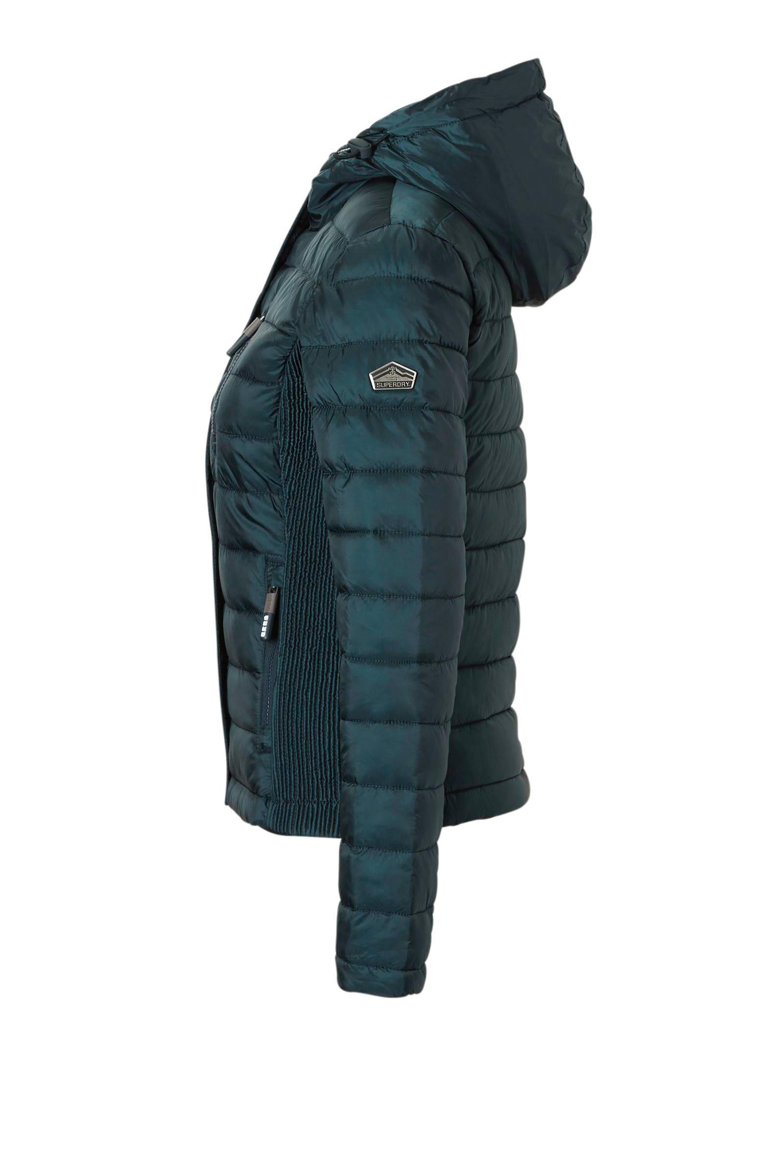 Superdry Luxe Fuji Double Zip jas   wehkamp