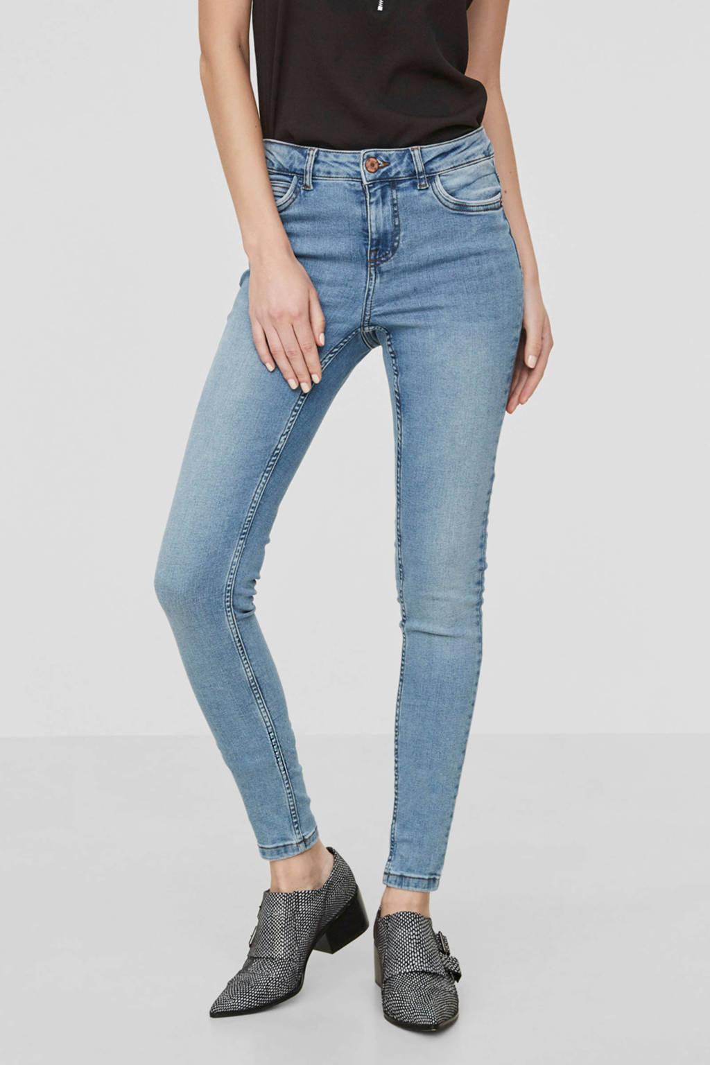 NOISY MAY skinny jeans light denim, Light denim
