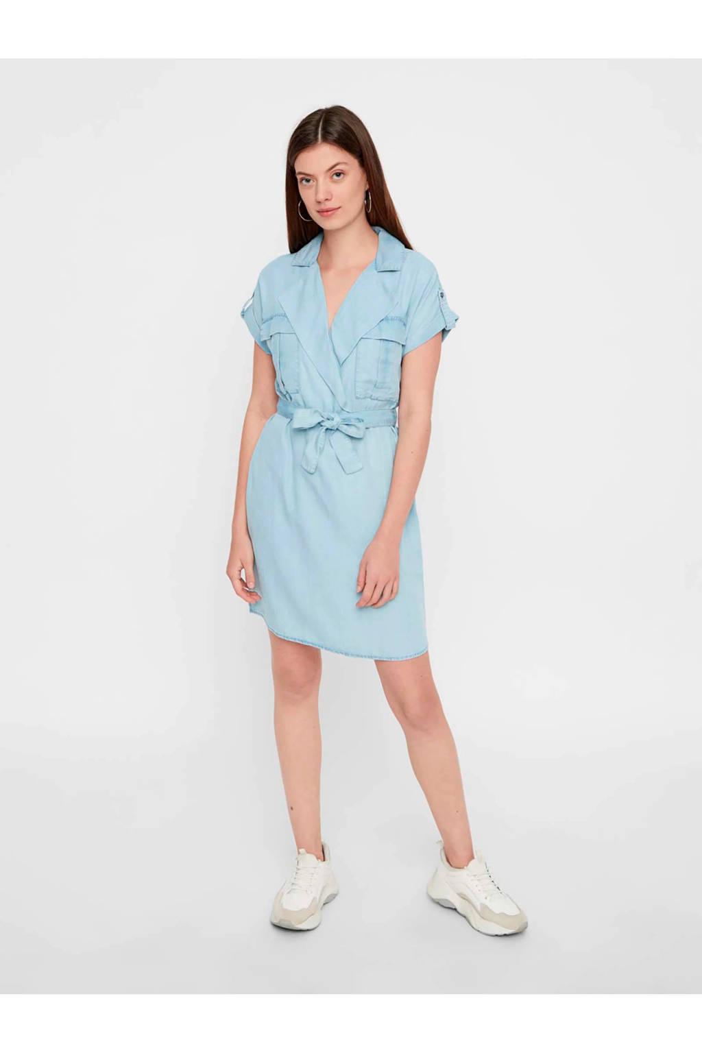 NOISY MAY jurk lichtblauw, Light denim