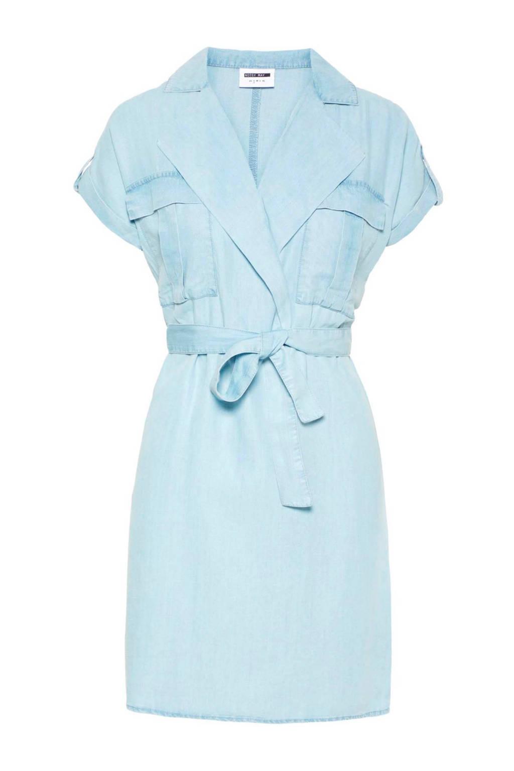 Noisy may jurk met bindceintuur lichtblauw, Lichtblauw