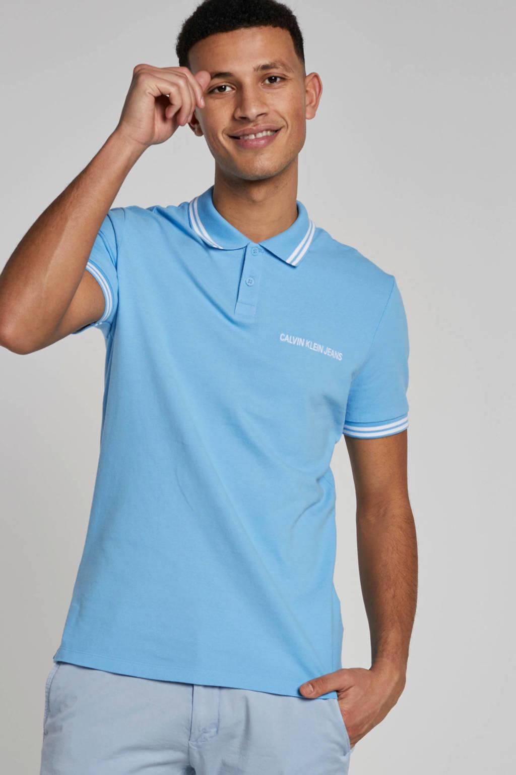 Calvin Klein Jeans Polo, Blauw