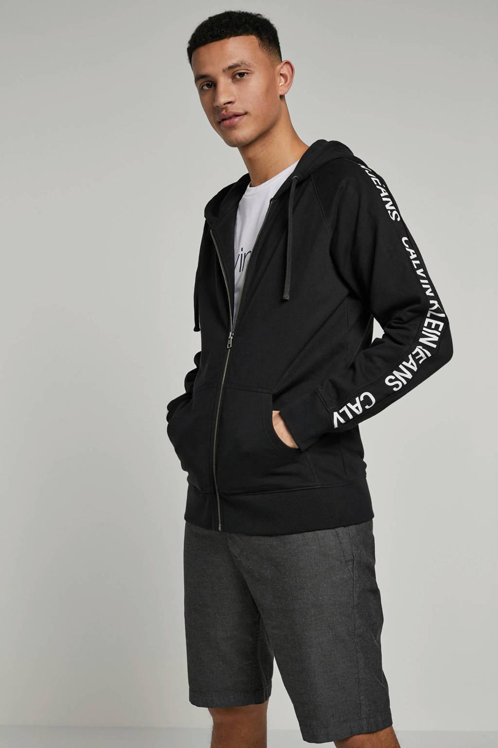 Calvin Klein Jeans sweatvest, Zwart