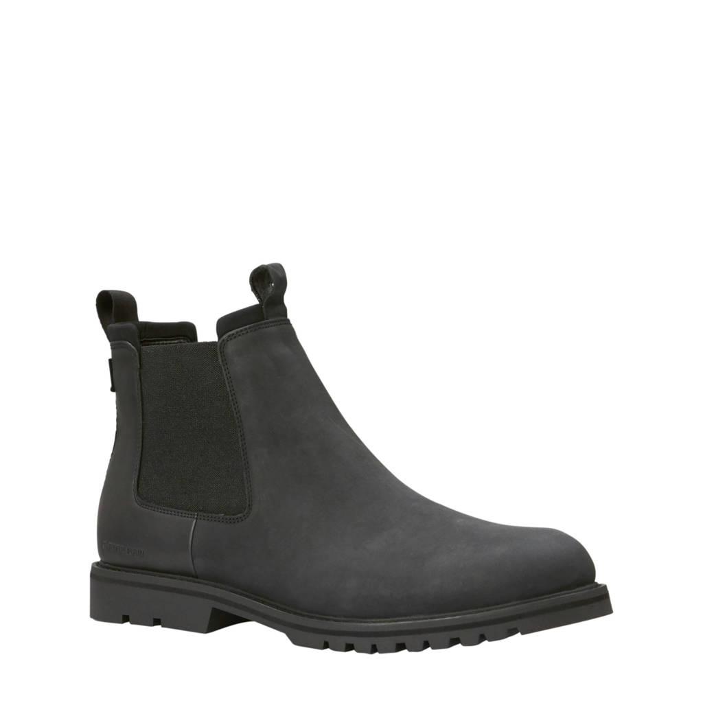 G-Star RAW Core leren Chelsea boots zwart, Zwart