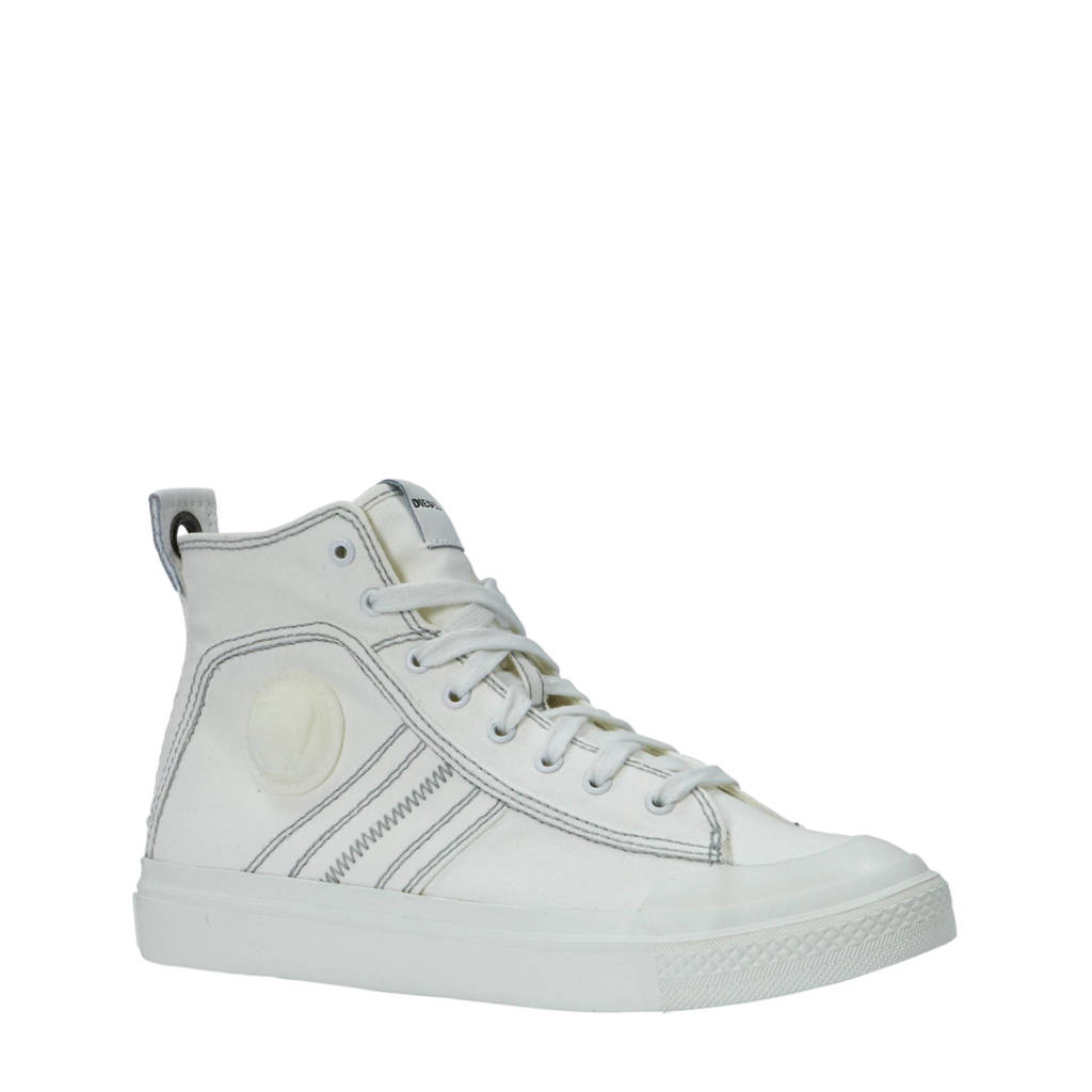 Diesel   S-Astico Mid Lace sneakers wit, Wit