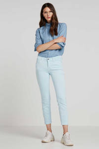 MAC cropped slim fit jeans Light Blue