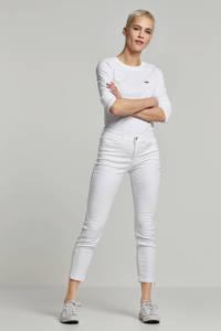 MAC cropped jeans wit, Wit