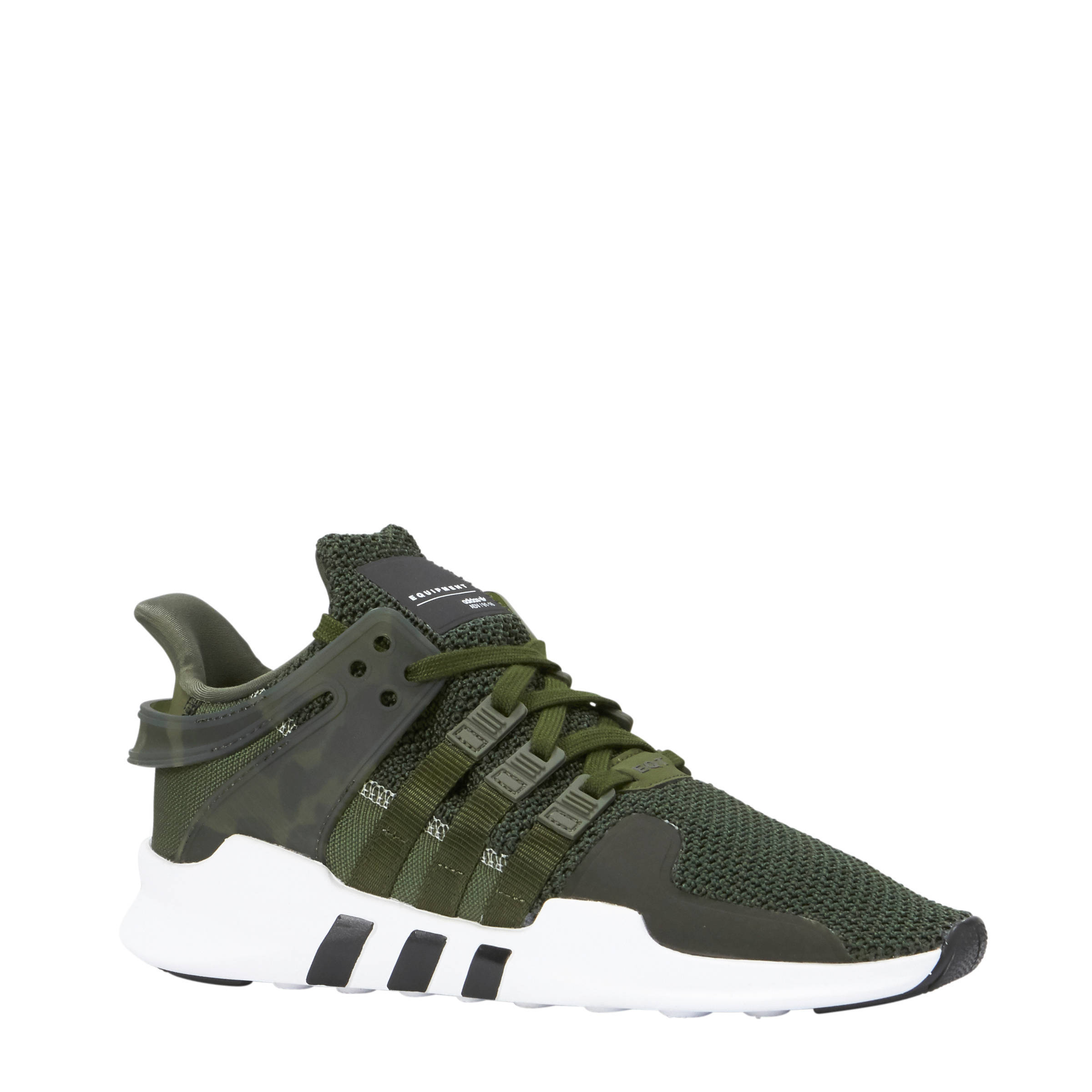 reputable site 660dc a355a adidas originals EQT Support ADV sneakers donkergroen  wehka