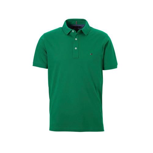 Tommy Hilfiger slim fit polo groen kopen