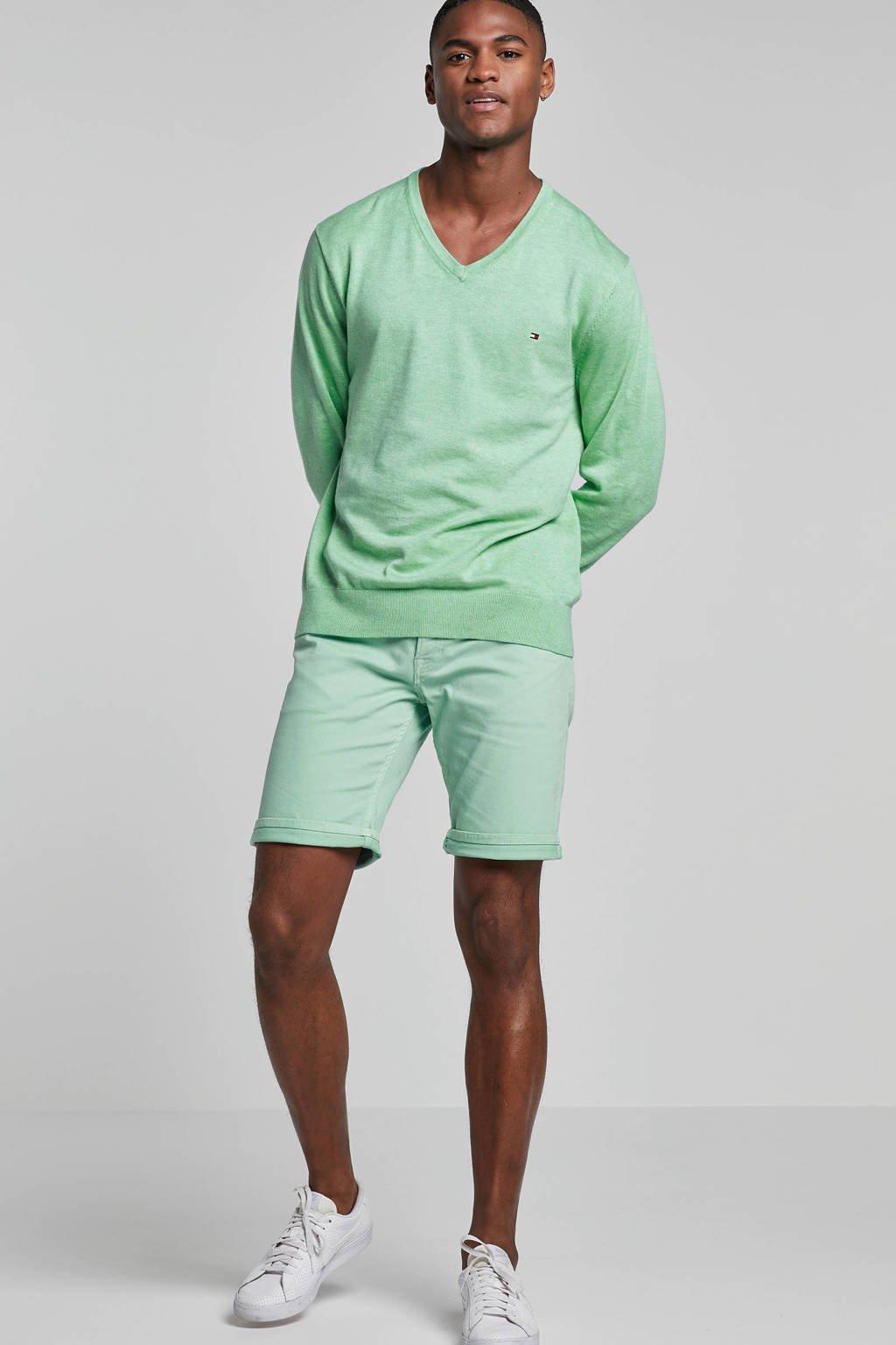 Tommy Hilfiger gemêleerde trui groen, Groen