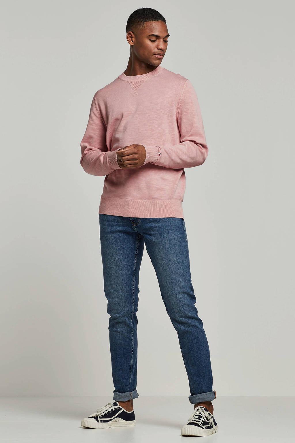 Tommy Hilfiger gemêleerde trui roze, Roze