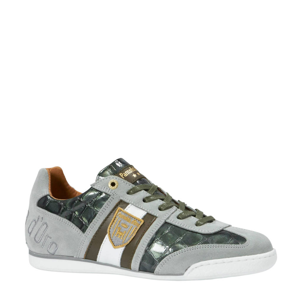 Pantofola d'Oro   Imola Scudo Patent Uomo Low sneakers, Grijs/groen