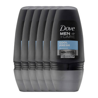 Men+ Care Cool Fresh deodorant rolller - 6x50 ml