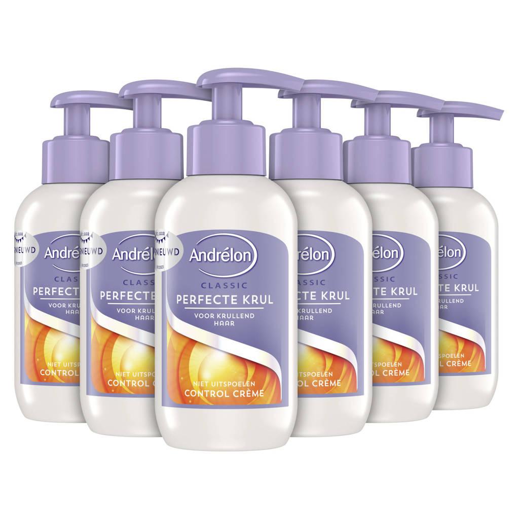 Andrelon Classic Perfecte Krul haarcrème - 6x200 ml