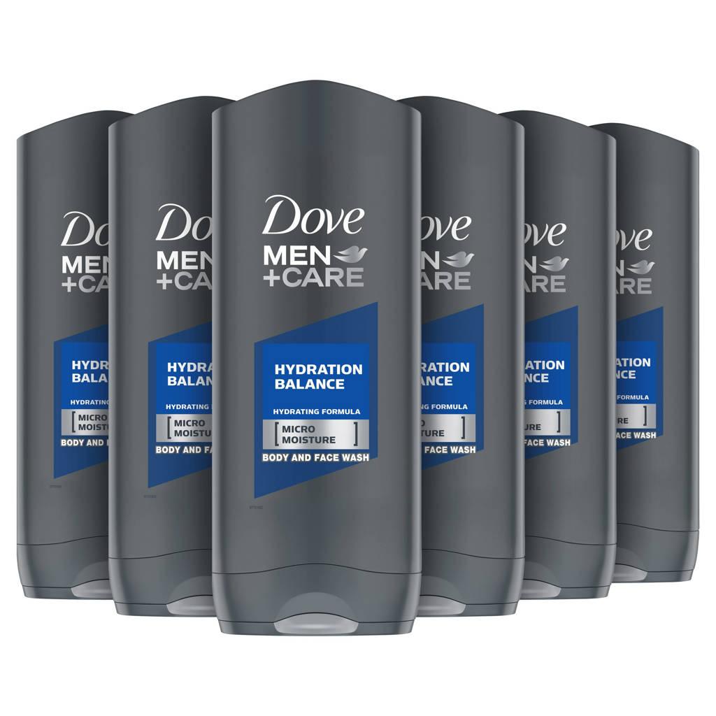 Dove Men+Care Hydration Balance douchegel - 6x250 ml