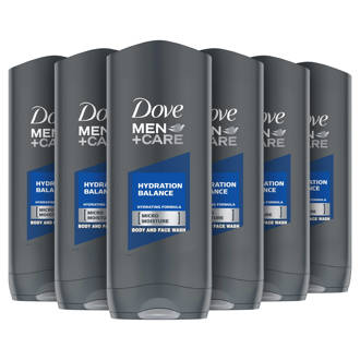 Men+ Care Hydration Balance douchegel - 6x250 ml