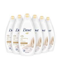 Dove Silk Glow Women douchegel - 6x250 ml