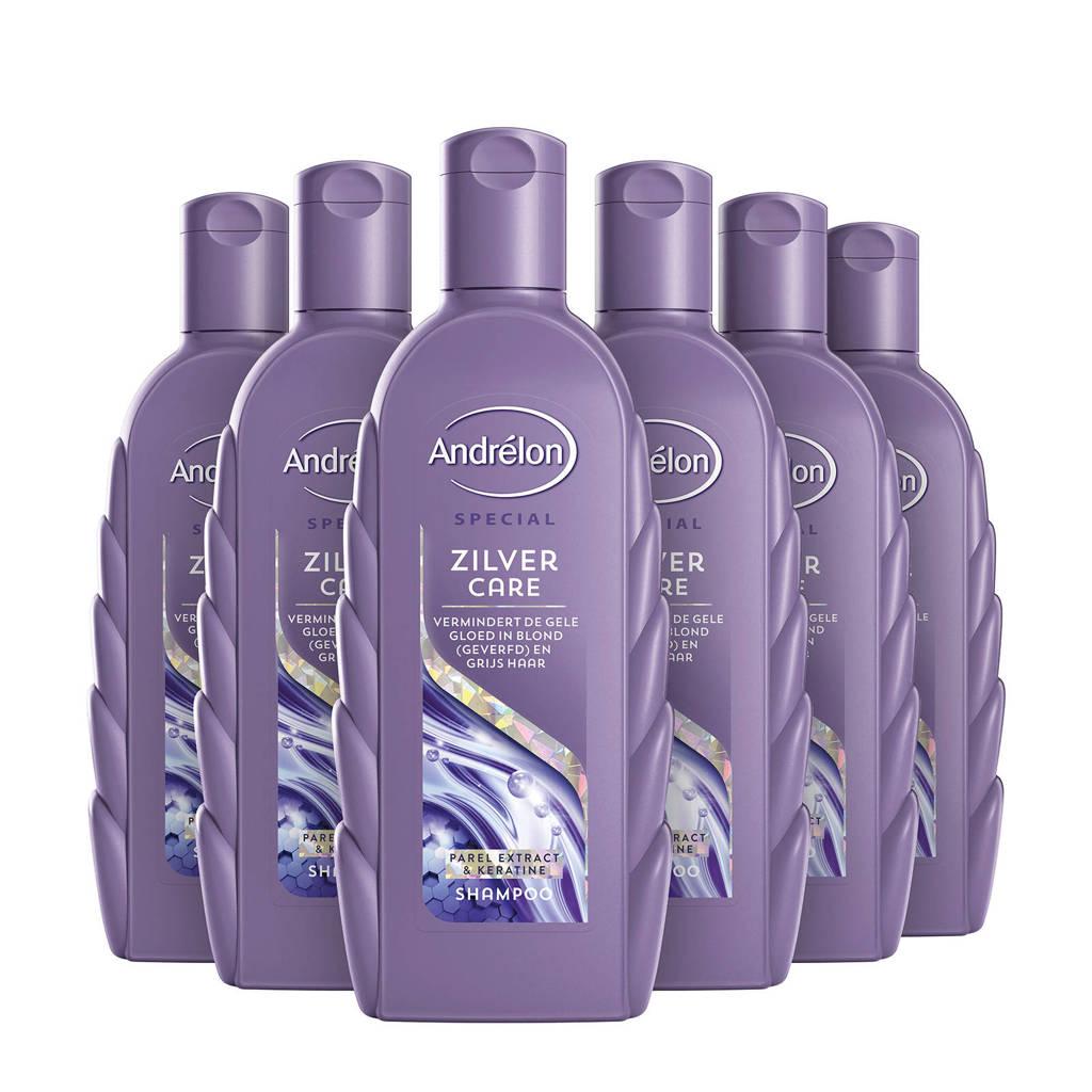 Andrelon Special Zilver Care shampoo - 6x300 ml