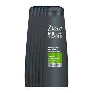 Fresh Clean 2-in-1 shampoo - 6x250 ml