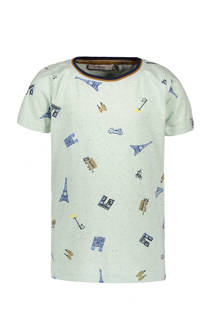 Sissy-Boy T-shirt met all over print mint