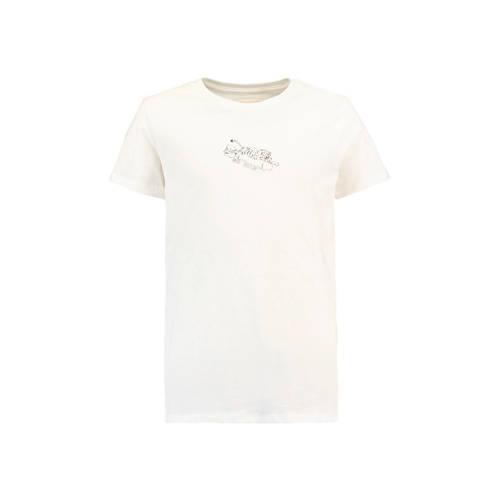 America Today Junior T-shirt Leo met tijger wit kopen