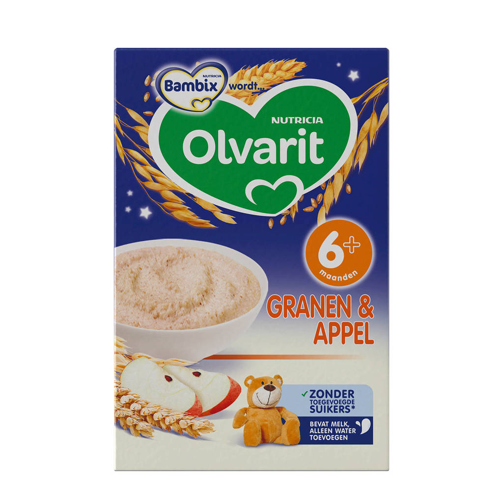 Olvarit granen & appel pap