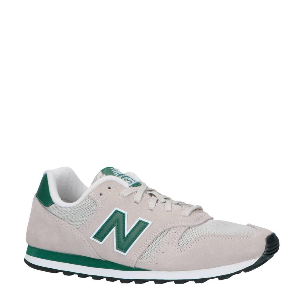 New Balance   373 sneakers beige/groen, Taupe/groen