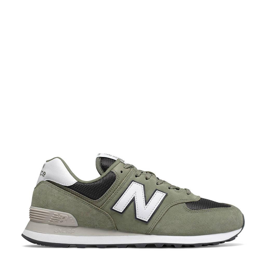 New Balance  ML574 sneakers legergroen, Kakigroen/wit
