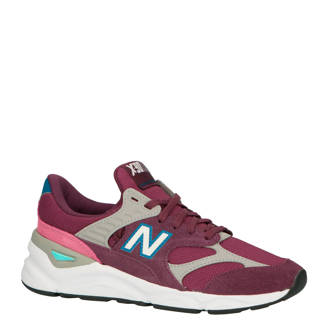 X-90 sneakers aubergine/roze
