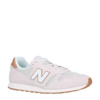 373 sneakers wit/lichtroze