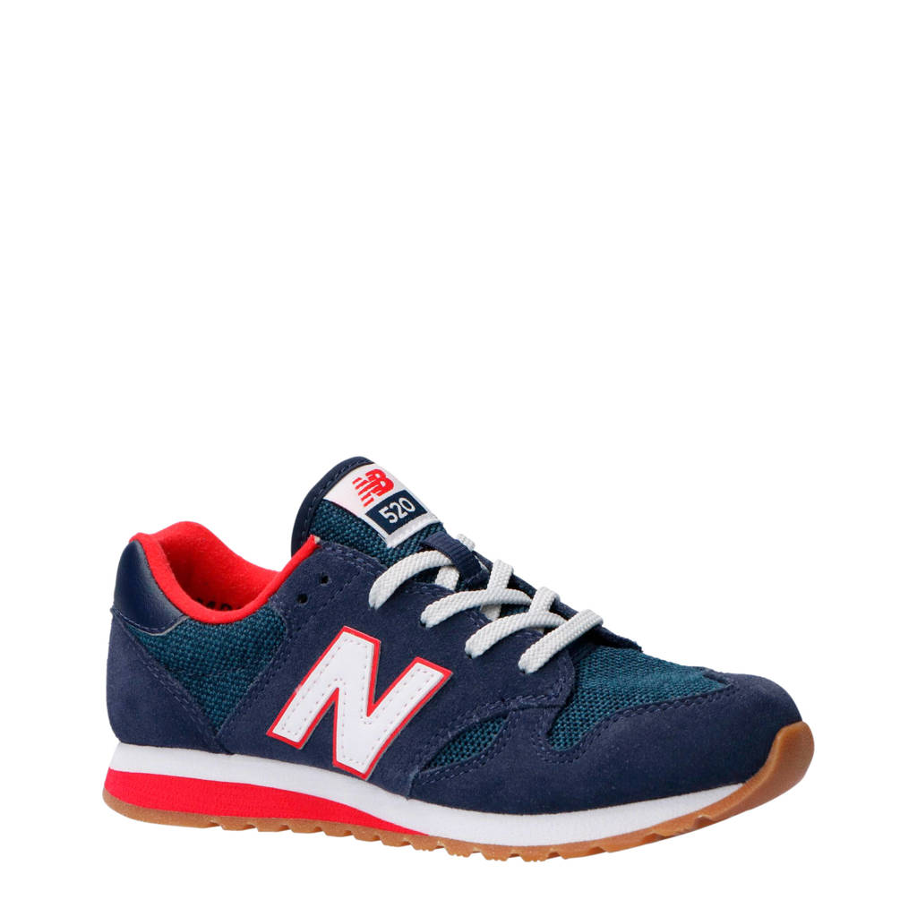 New Balance  520 sneakers, Donkerblauw/rood