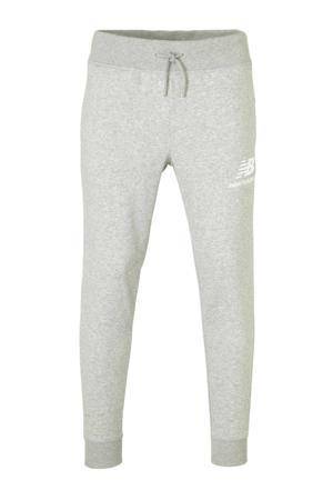 regular fit joggingbroek grijs melange