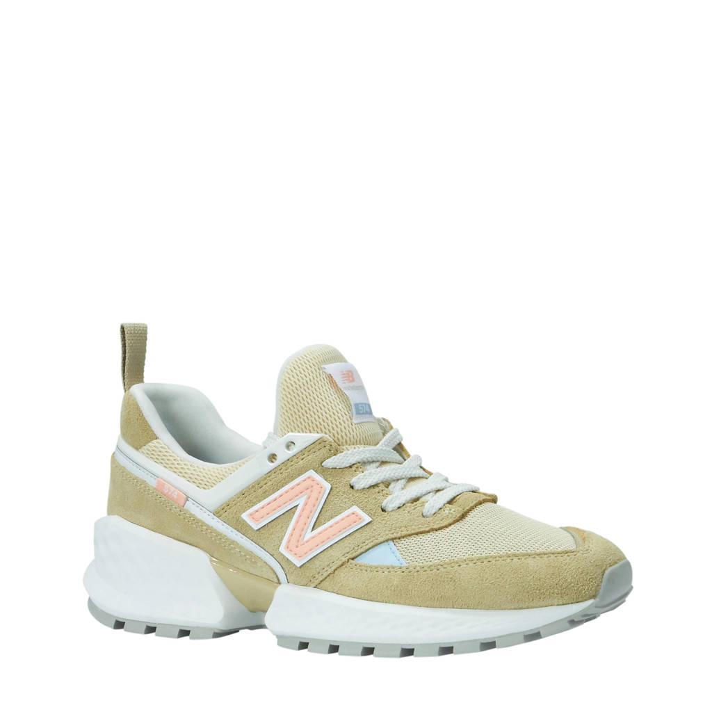 New Balance  sneakers zand/beige, Zand/roze/lichtblauw