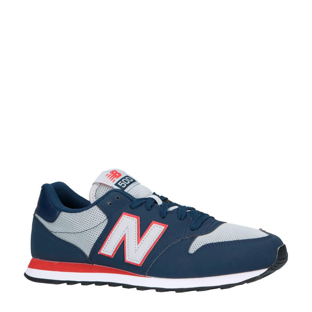 New Balance  GM500 sneakers donkerblauw/grijs/rood