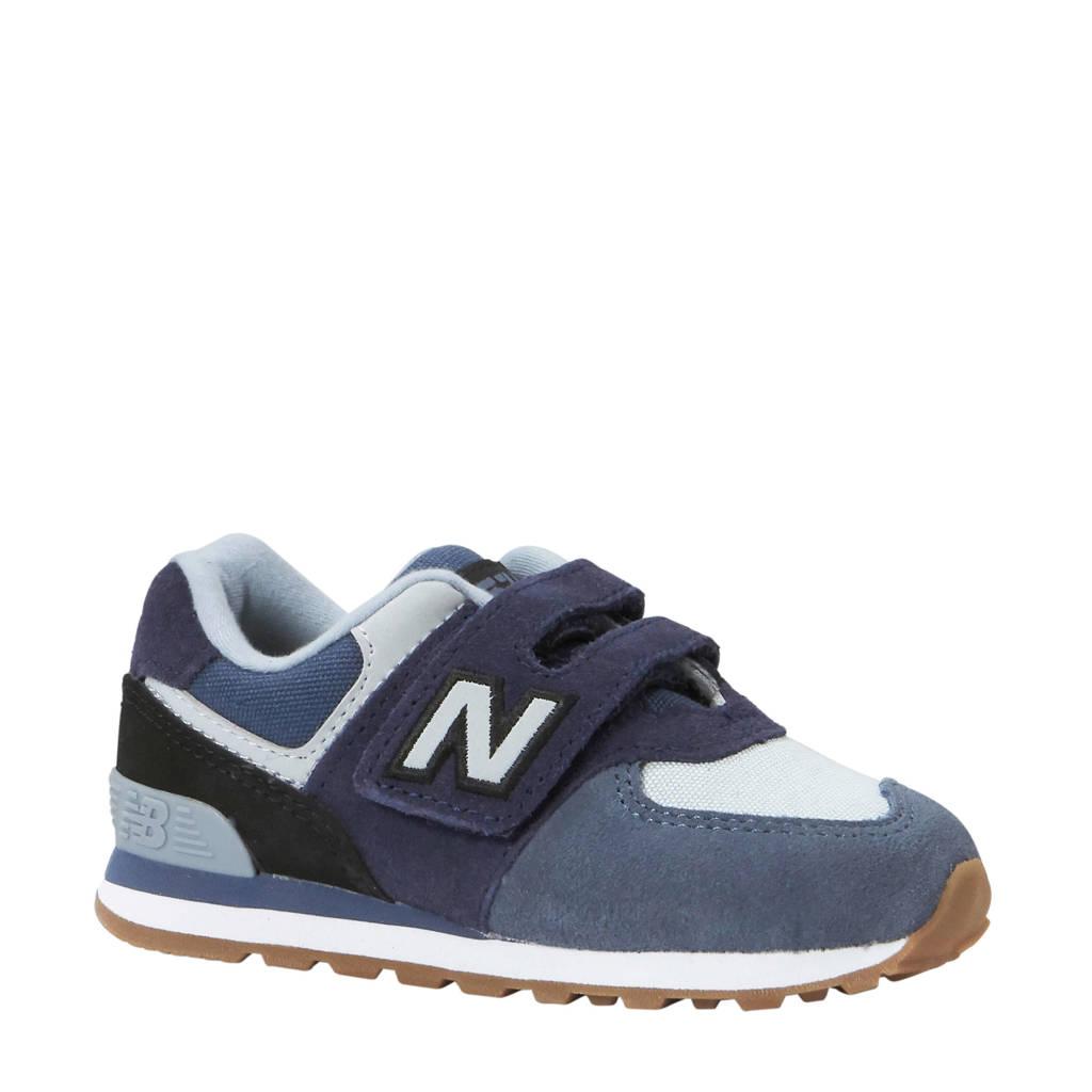 New Balance  574 sneakers grijs/blauw, Grijs/blauw/rood