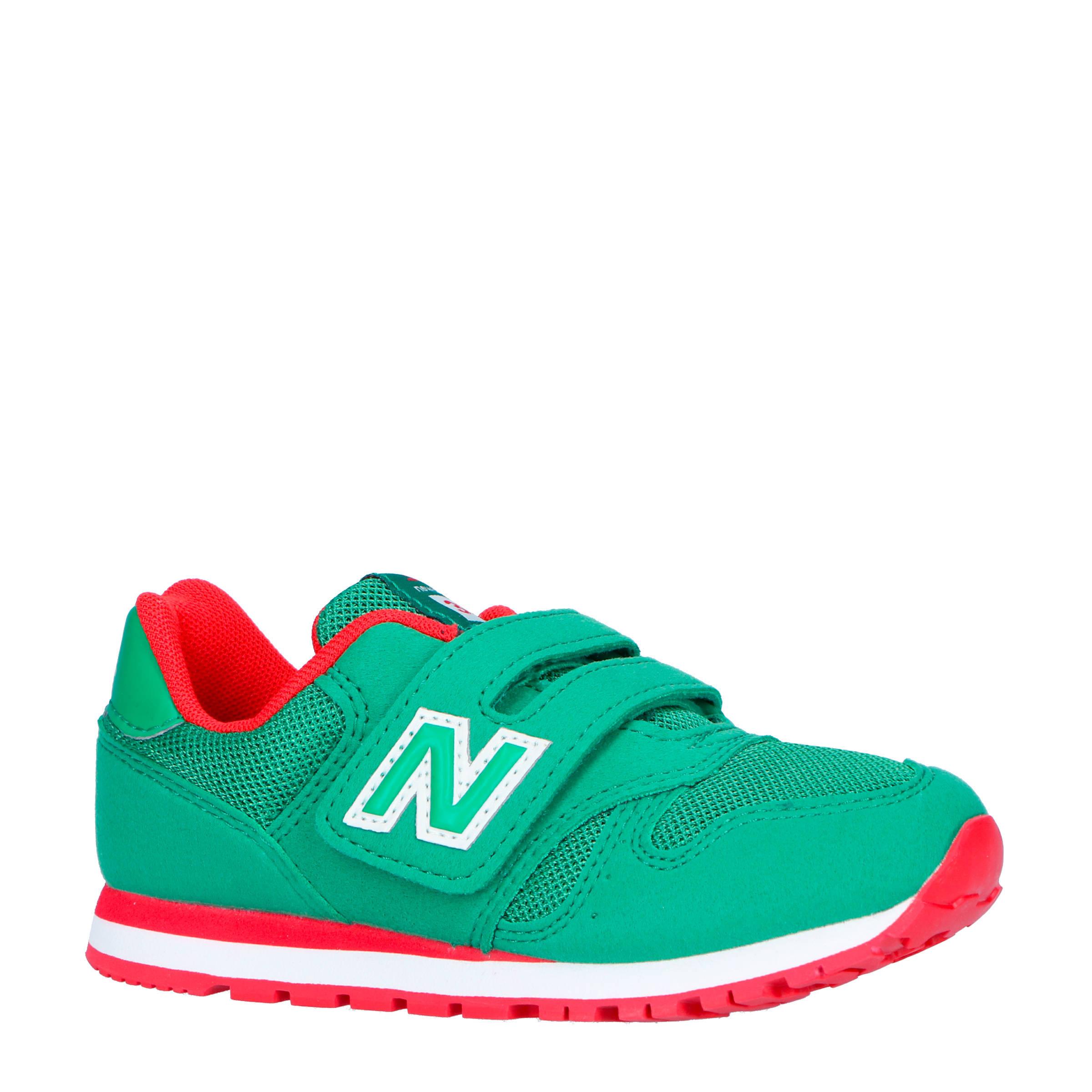 373 sneakers groenrood