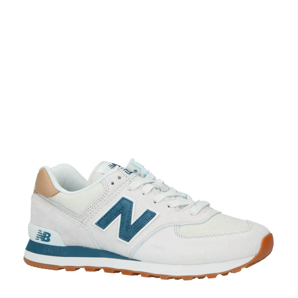 New Balance  ML574 sneakers beige, Beige/donkerblauw