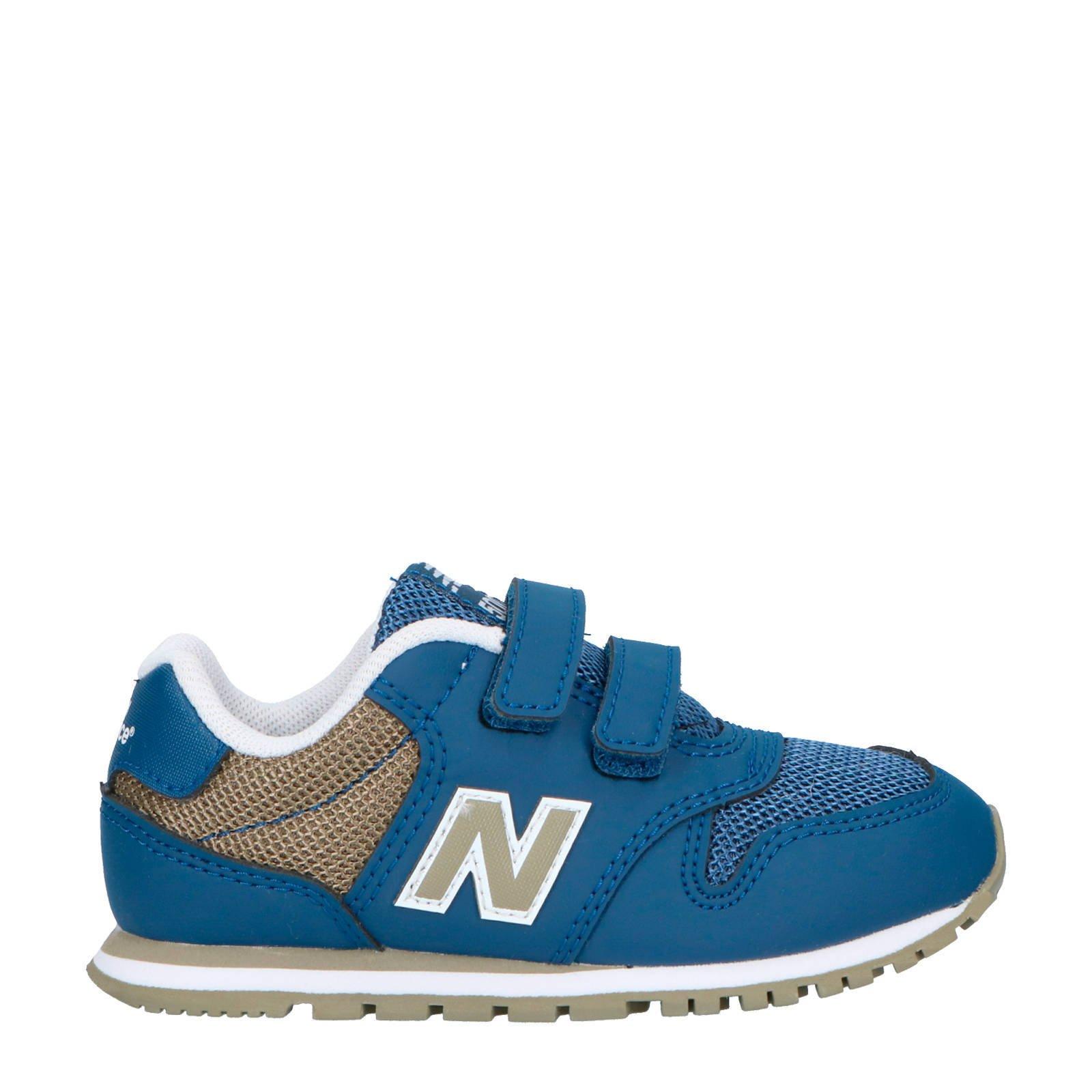 new balance 500 sneakers blauw dames