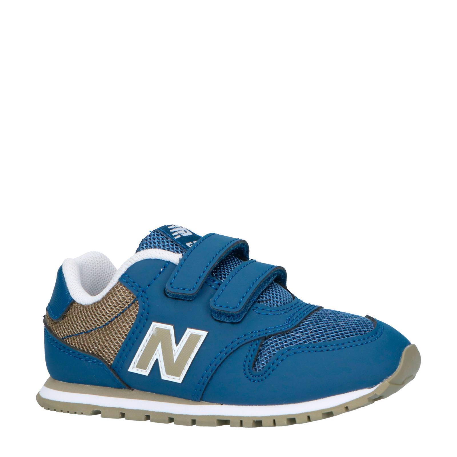 new balance 500 sneakers blauw heren