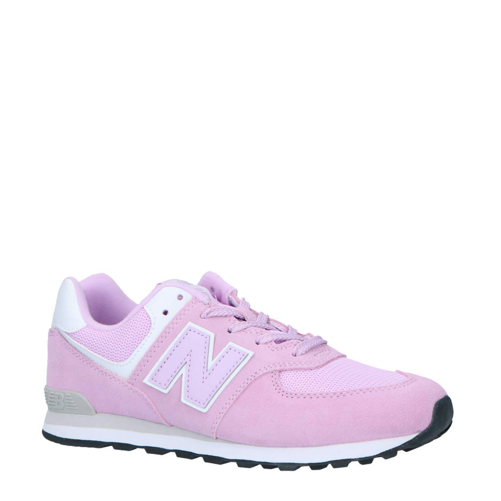 New Balance  574 sneakers lila, Lila/wit