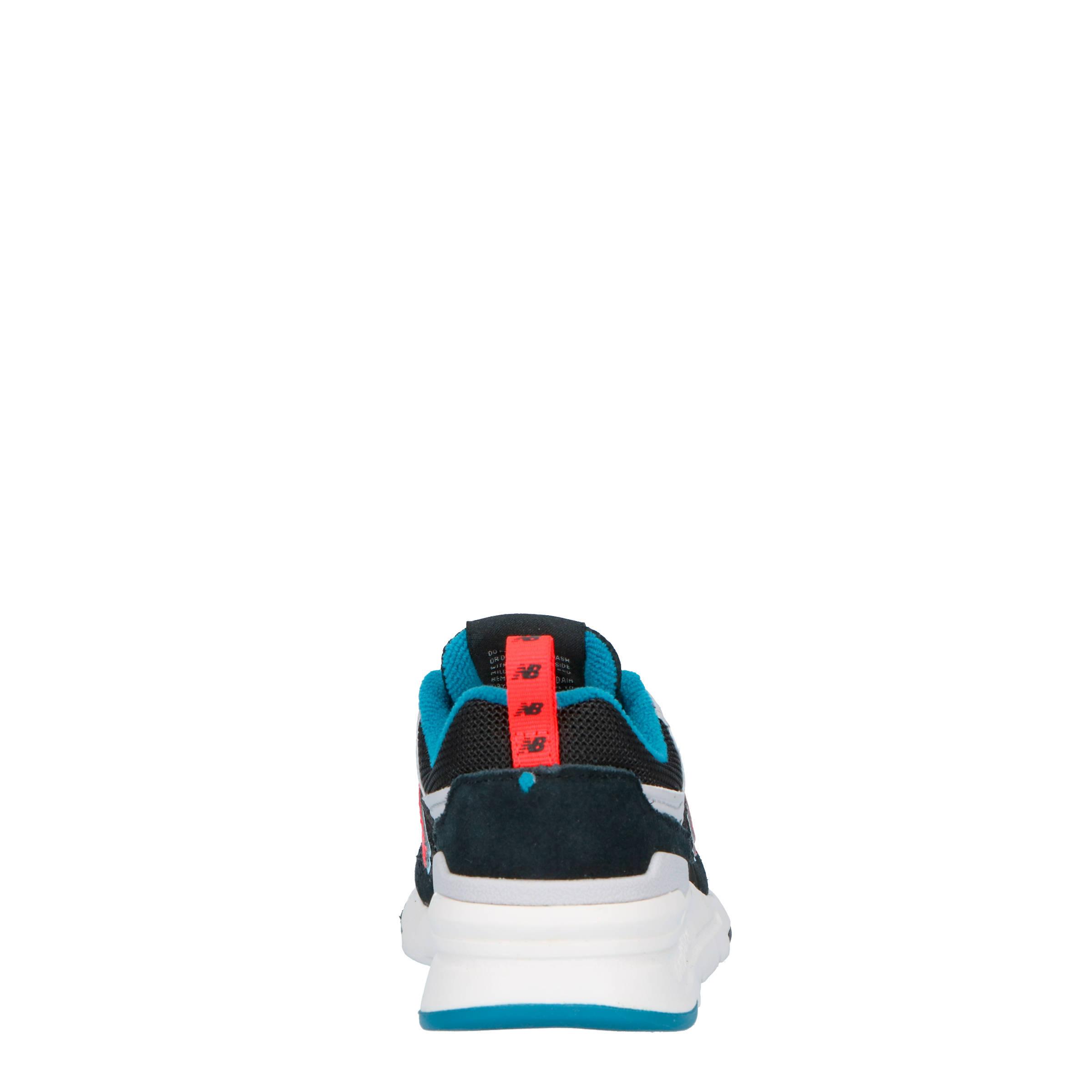 997H sneakers zwartrood