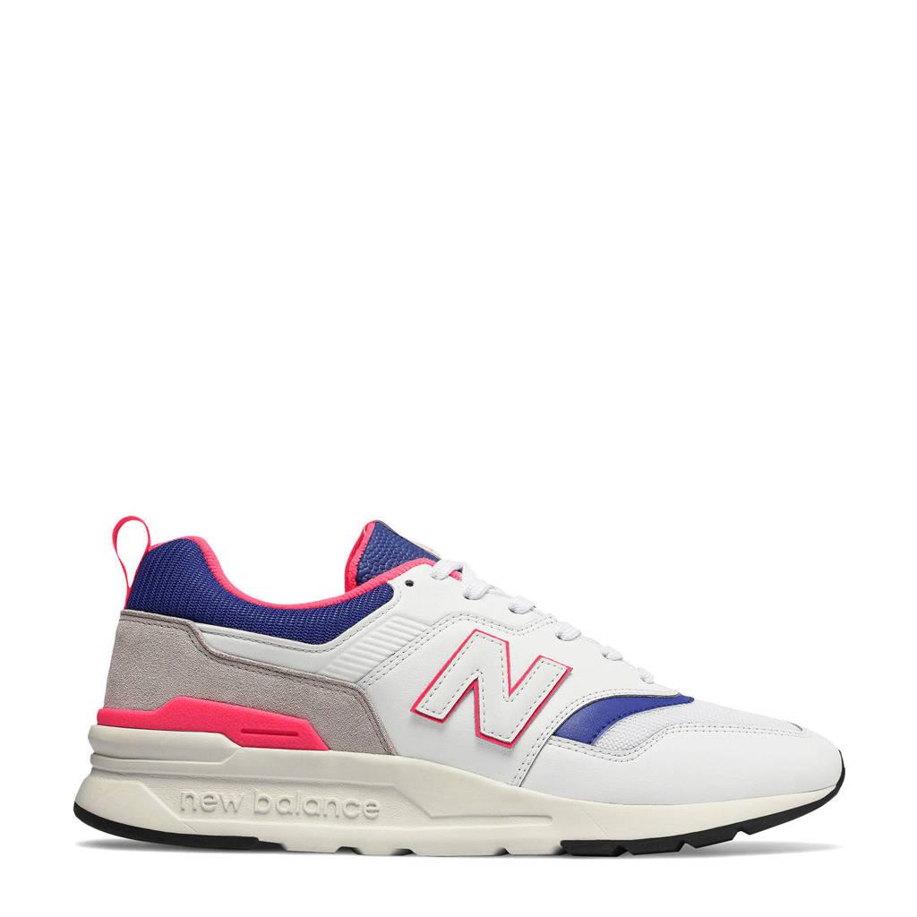 New Balance  997 sneakers wit/grijs/blauw/roze, Wit/grijs/blauw/roze