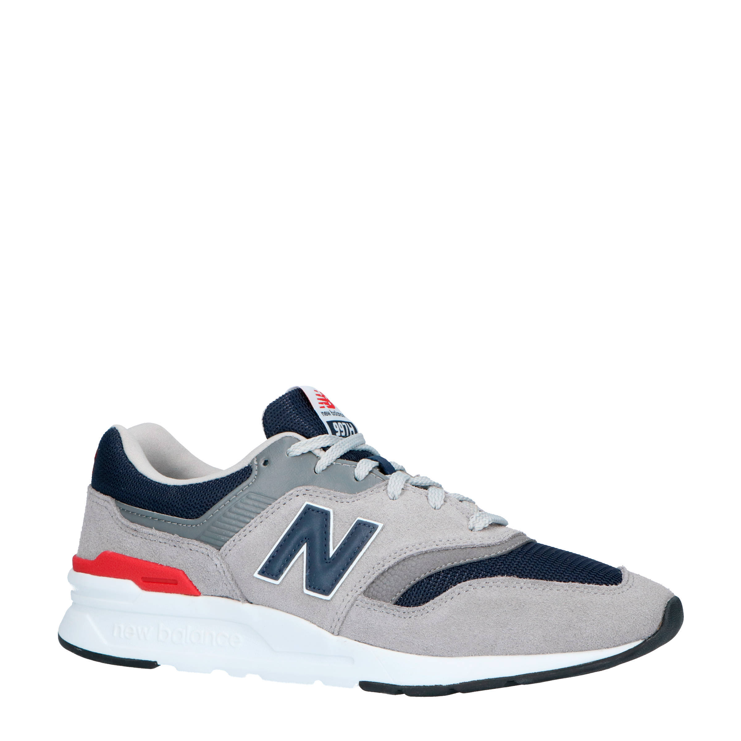 new balance heren rood