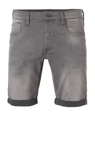 slim fit jeans short grijs 3301