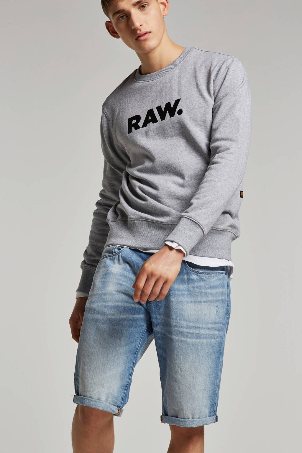 G-Star RAW sweater Ocelat, Grijs