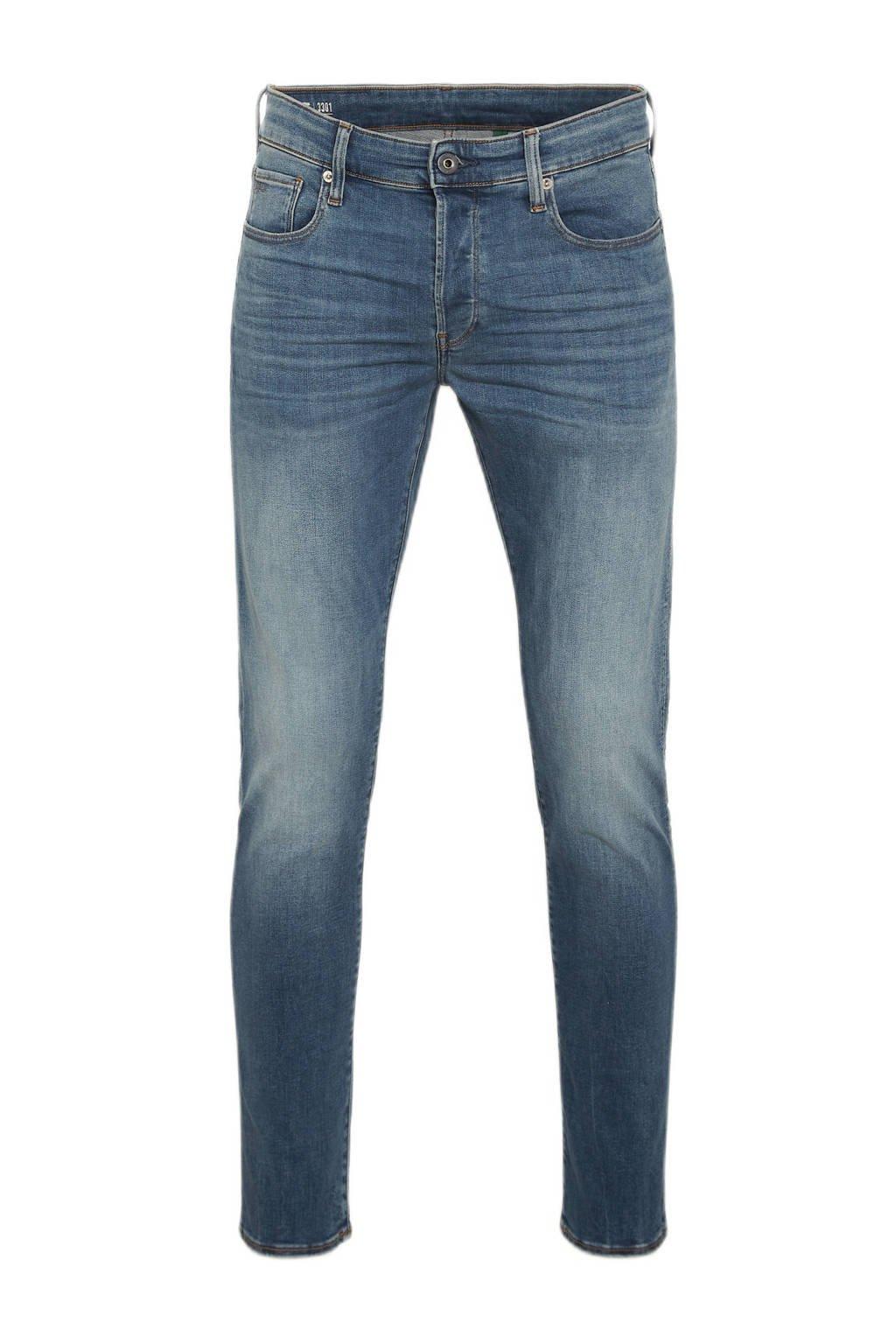 G-Star RAW  straight 3301 straight fit jeans, Dark denim