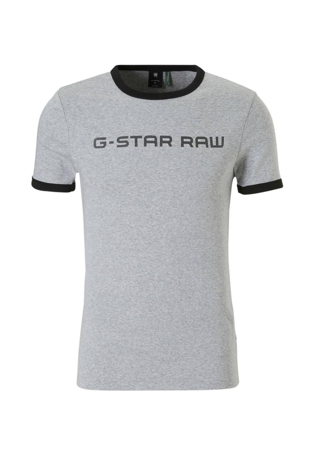 G-Star RAW T-shirt Xemoj, Grijs melange
