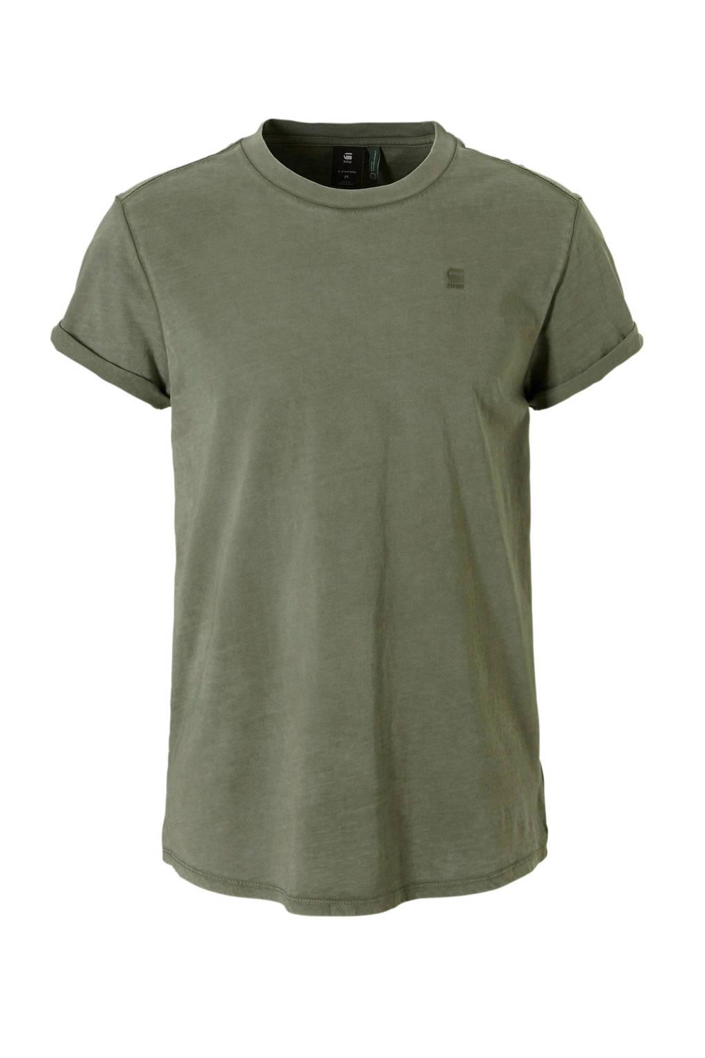 G-Star RAW T-shirt Shelo, Grijsgroen